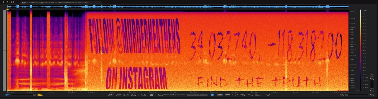 Spectrogram - There's a Creepy Game Happening Online and We Need Your Help to Solve it!