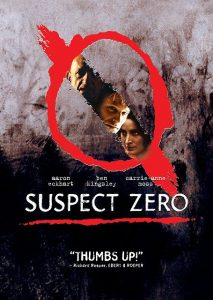 Suspect Zero 2004 213x300 - DVD and Blu-ray Releases: August 1, 2017