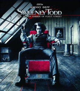 Sweeney Todd 2007 264x300 - DVD and Blu-ray Releases: August 1, 2017