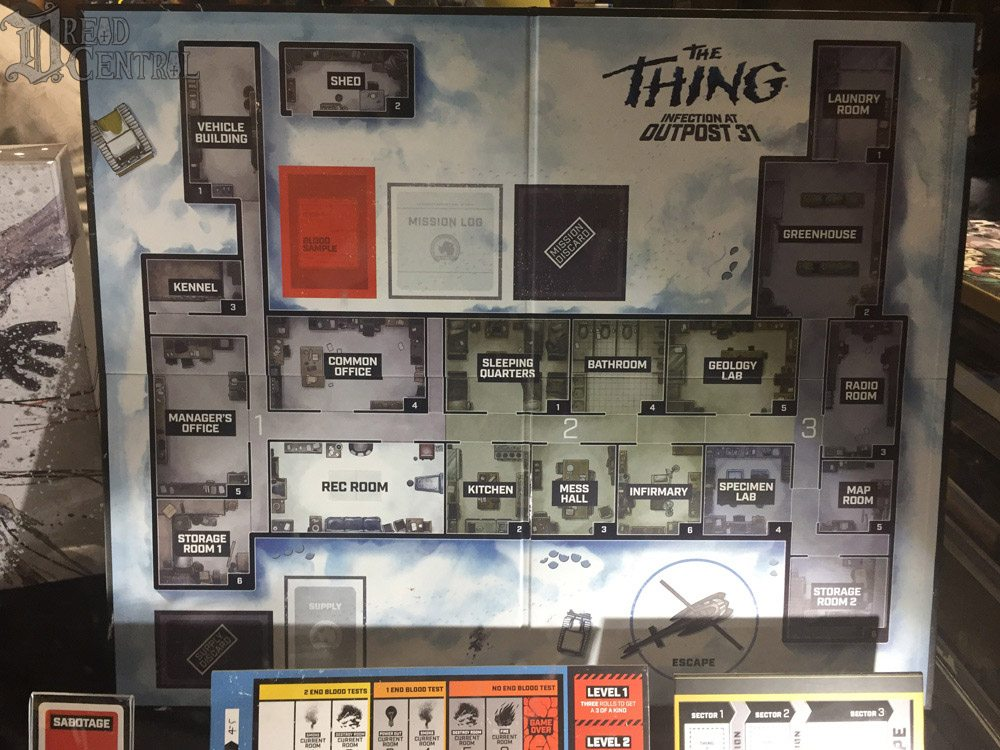 Thing Boardgame 4 - #SDCC17: Get Up Close and Personal with Mondo's The Thing: Infection at Outpost 31