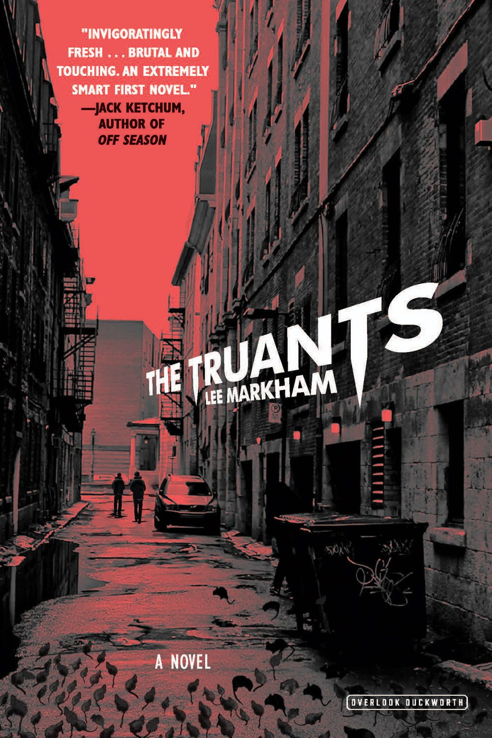 Truants HC Cover - Guest Post: Author Lee Markham on Why The Truants Isn't 'Just' a Vampire Story