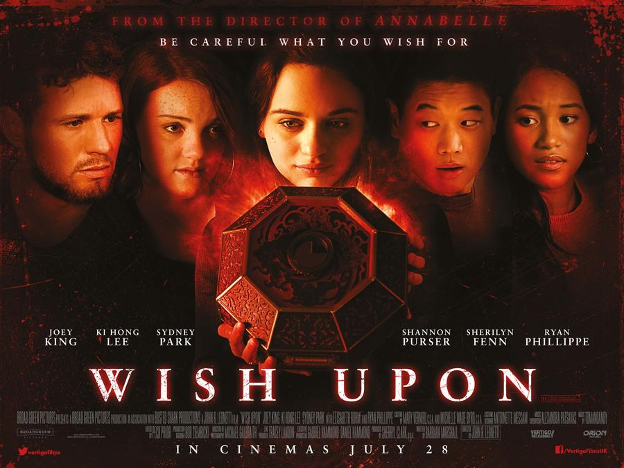 Wish Upon UK Quad - Exclusive: Let Wish Upon's Joey King Give You an Attic Tour