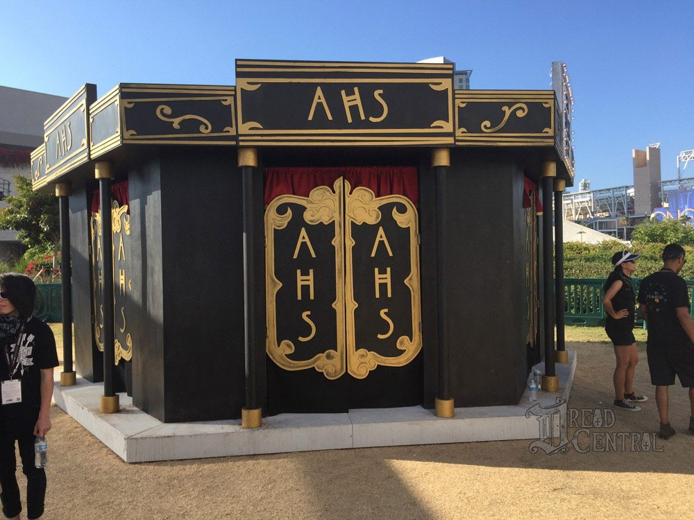ahs cc 1 - #SDCC17 Video: Go Inside the American Horror Story: Cult Zoetrope; FX Treats Us to The Strain for One Last Time