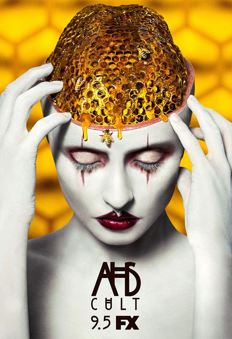 ahs cult beehive brain poster - New Teaser for American Horror Story: Cult Really Stands Out