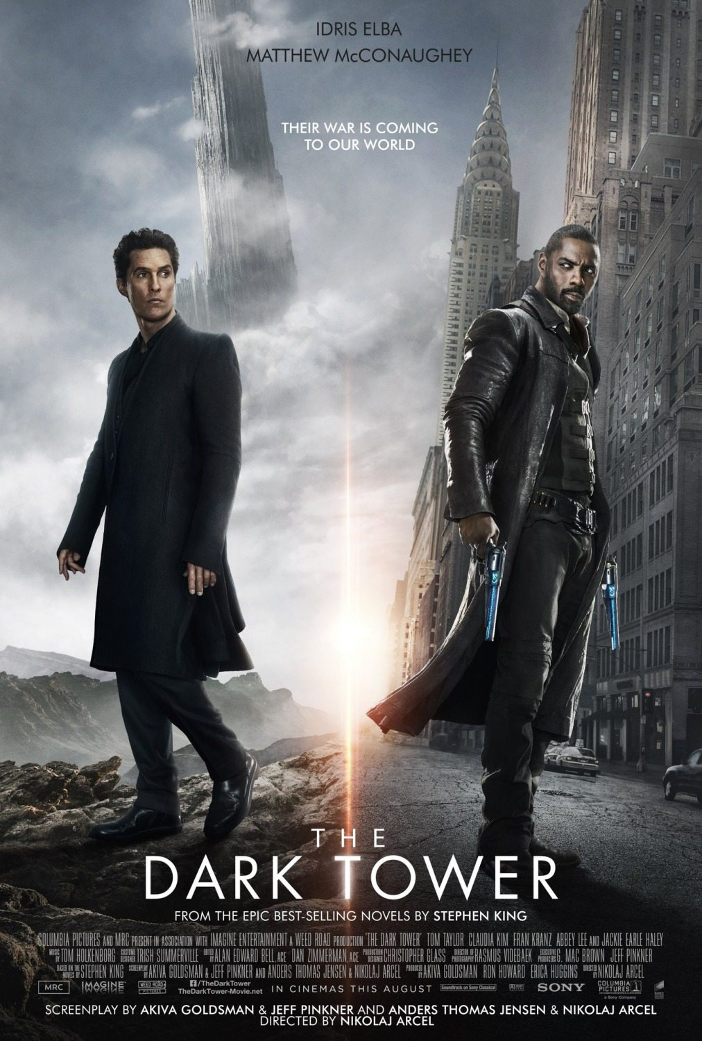 New The Dark Tower Posters Get Artistic - Dread Central Pacific Rim Blu Ray Cover