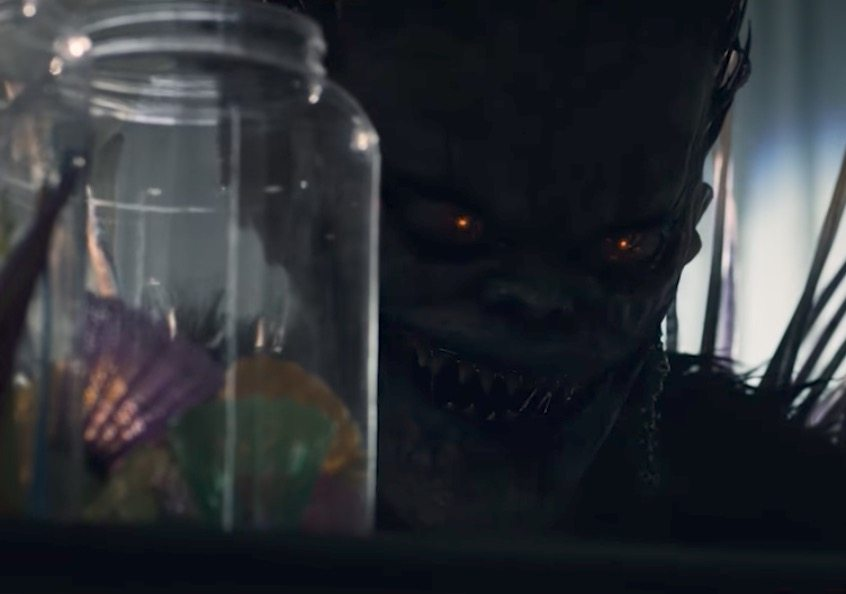 deathnoteryukbanner - New Death Note Clip Introduces Light to Ryuk