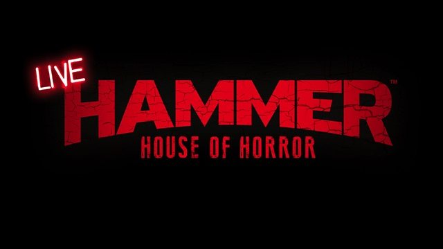 hammerhouseofhorrorlivebanner - Hammer Is Going Live with a House of Horror