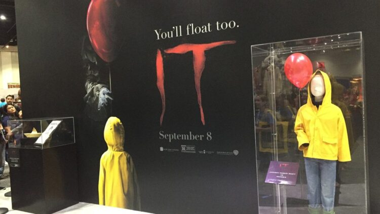 it sdcc 4 750x422 - #SDCC17: Stephen King's IT - Wicked Props on Display!