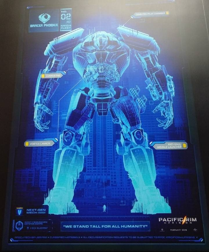Here Are Three New Pacific Rim: Uprising Jaegers - Dread
