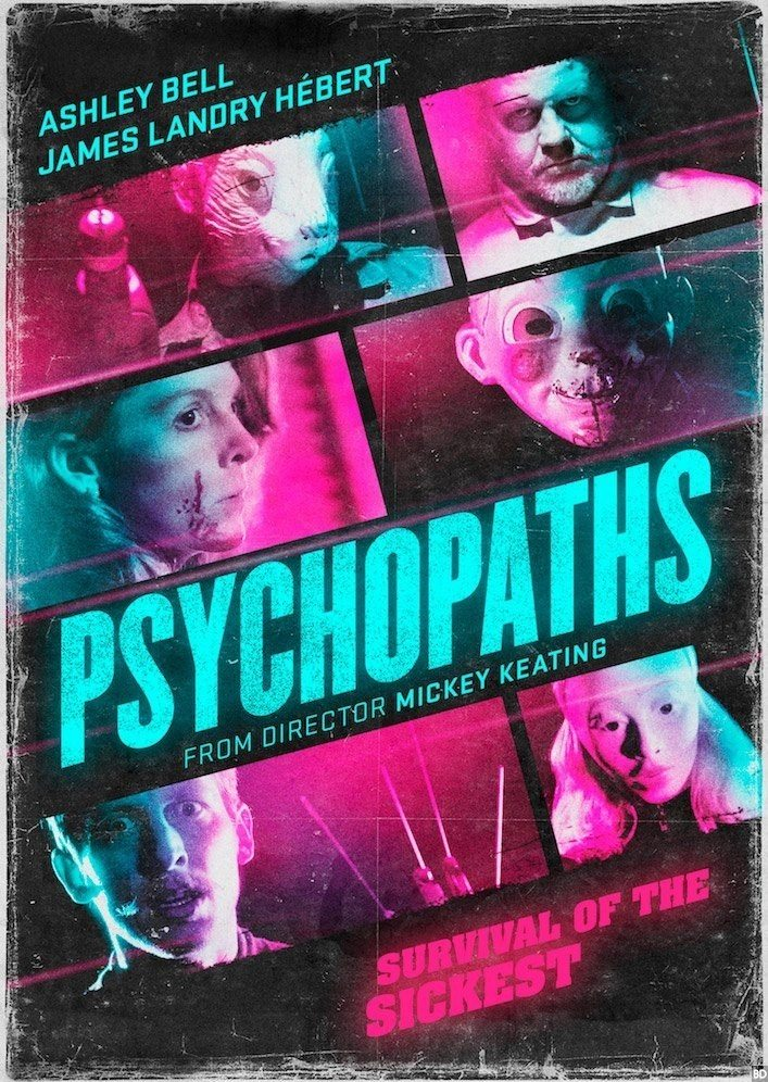psycopaths neon - New Trailer Filled with Psychopaths