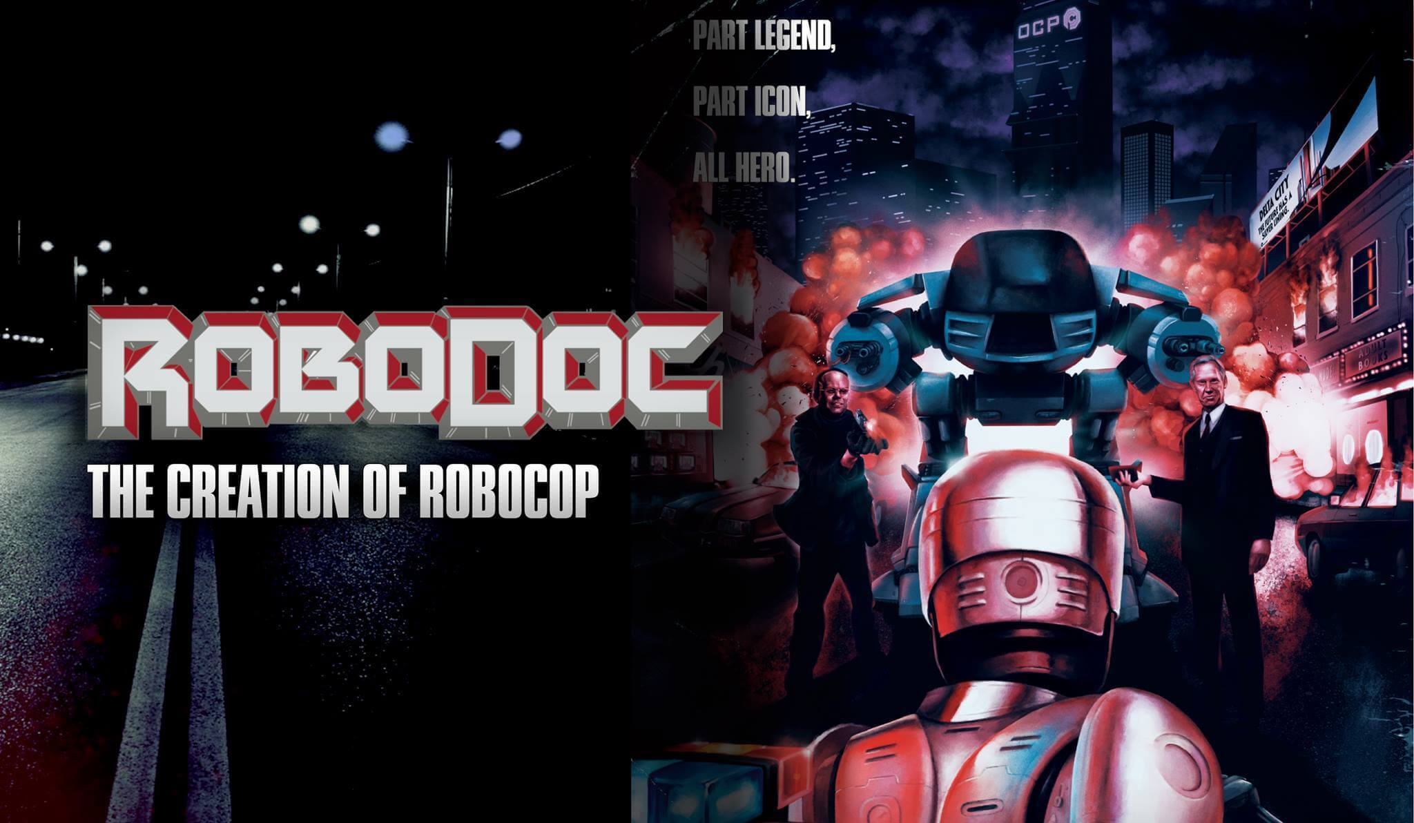 robodoc documentary film poster 1 - Stay Out of Trouble and Watch the RoboDoc: The Creation of RoboCop Trailer