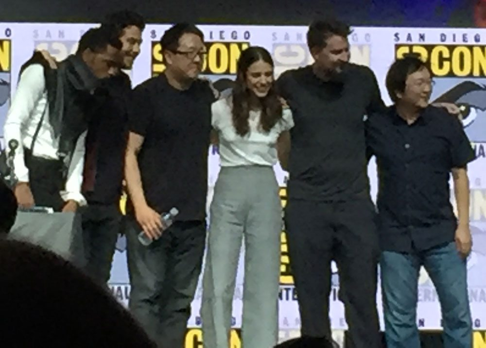 sdcc deathnote castcrew - #SDCC17: Netflix Wins Hall H on Day 1! See the Death Note Panel and the Bright Trailer!