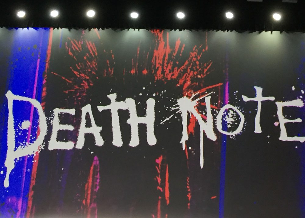 sdcc deathnote main2 - #SDCC17: Netflix Wins Hall H on Day 1! See the Death Note Panel and the Bright Trailer!