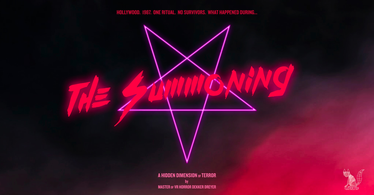 summoningarthoriz - Horror Goes VR in Dekker Dreyer's The Summoning