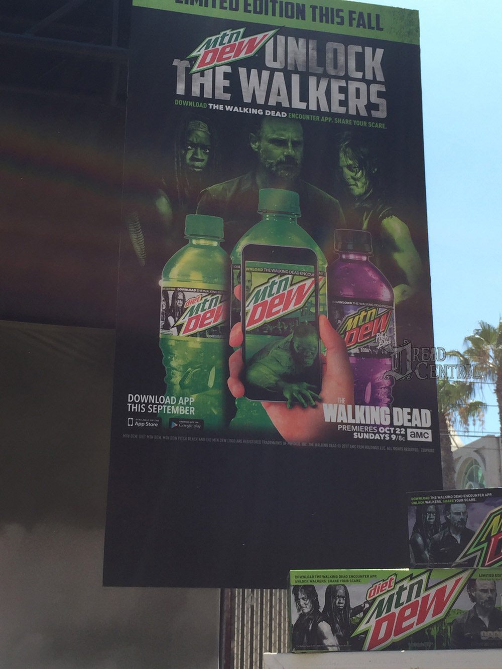 twd dq 3 - AMC and Mountain Dew Team for The Walking Dead Encounter Augmented Reality App
