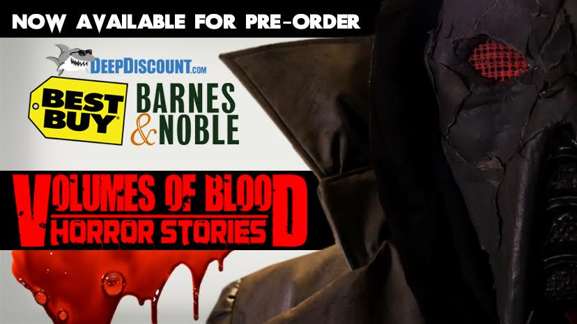 volumes of blood horror stories dvd poster 1 - Volumes of Blood: Horror Stories Coming to Home Video on August 1