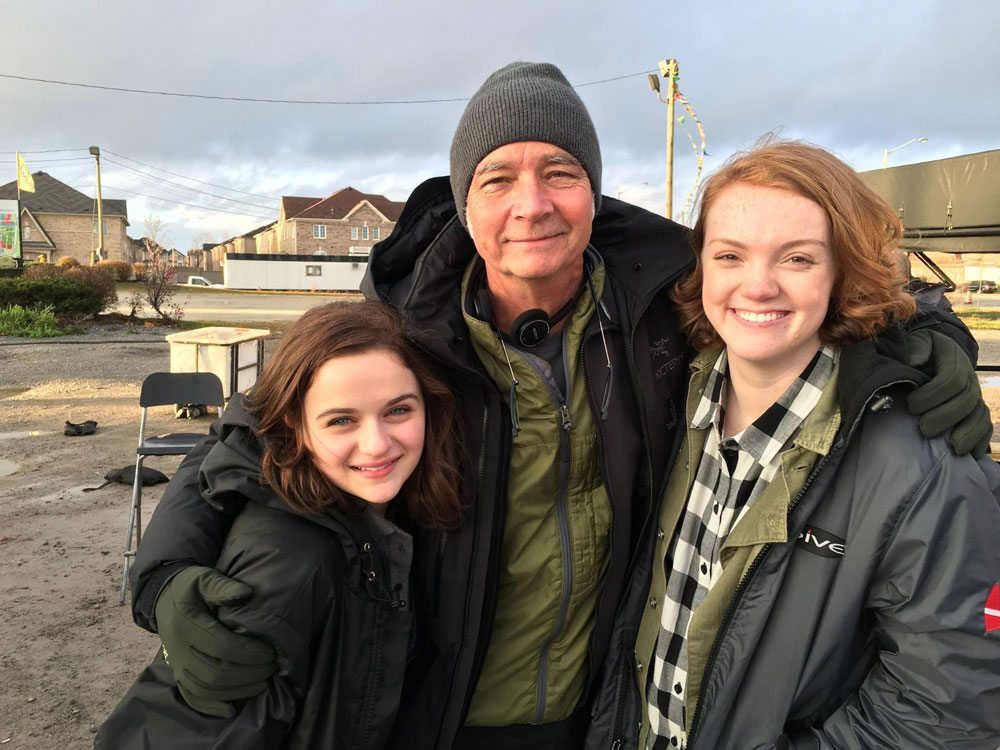 wishupon leonetti king purser - Wish Upon Set Visit Report - Hear from Stars Joey King, Shannon Purser, and Sydney Park and Director John R. Leonetti