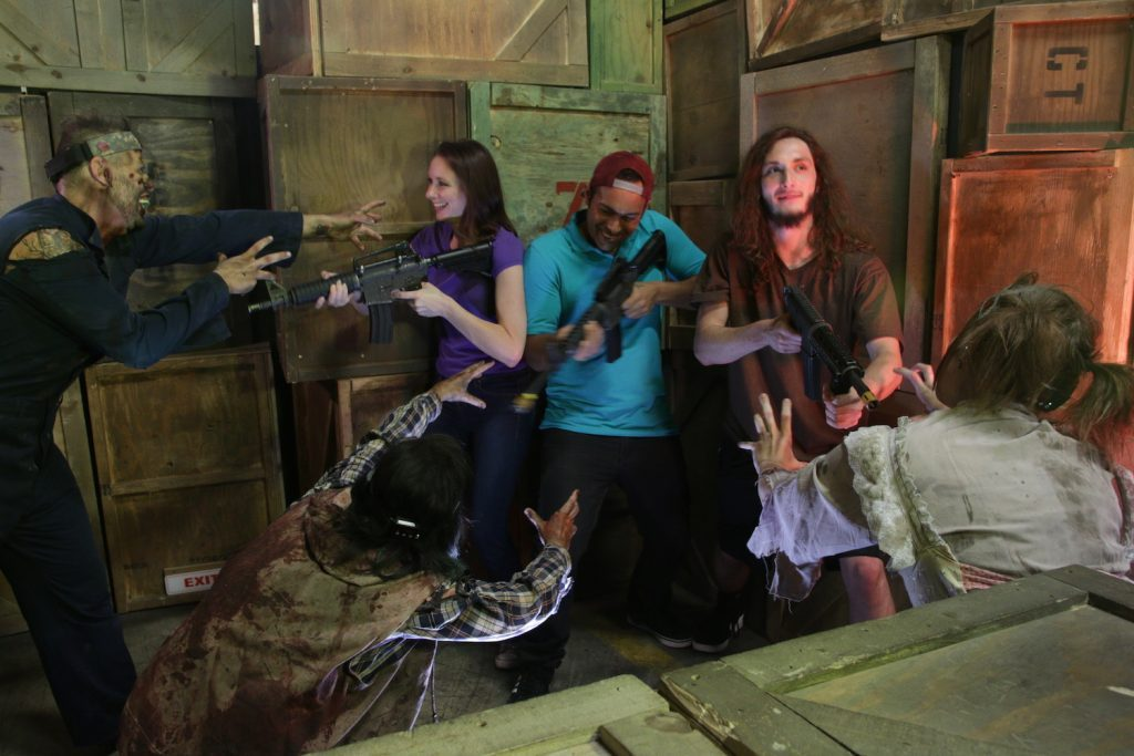zombiegallery 1024x683 - Apocalypse World Tour Looks Like Left 4 Dead in Real Life!