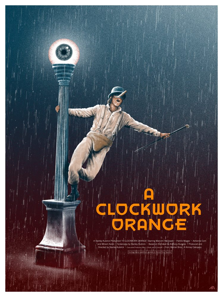 5Adam Rabalais A Clockwork Orange - DC's The Devil's Muse: Artist Spotlight - Adam Rabalais