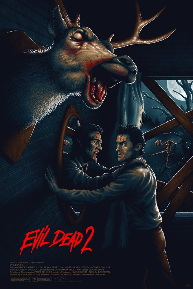6Adam Rabalais Evil Dead II FINAL web - DC's The Devil's Muse: Artist Spotlight - Adam Rabalais