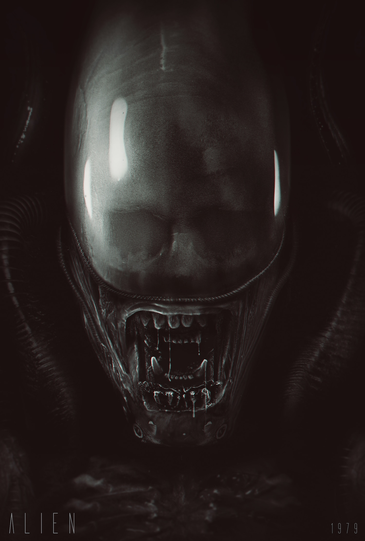 AlienBod S6 - David Graham Has Created Another Fantastic Alien Poster