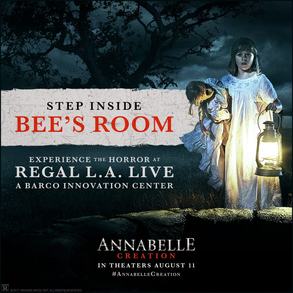 Annabelle2 Static 1000x1000 - In LA? Check Out the Annabelle: Creation VR Experience