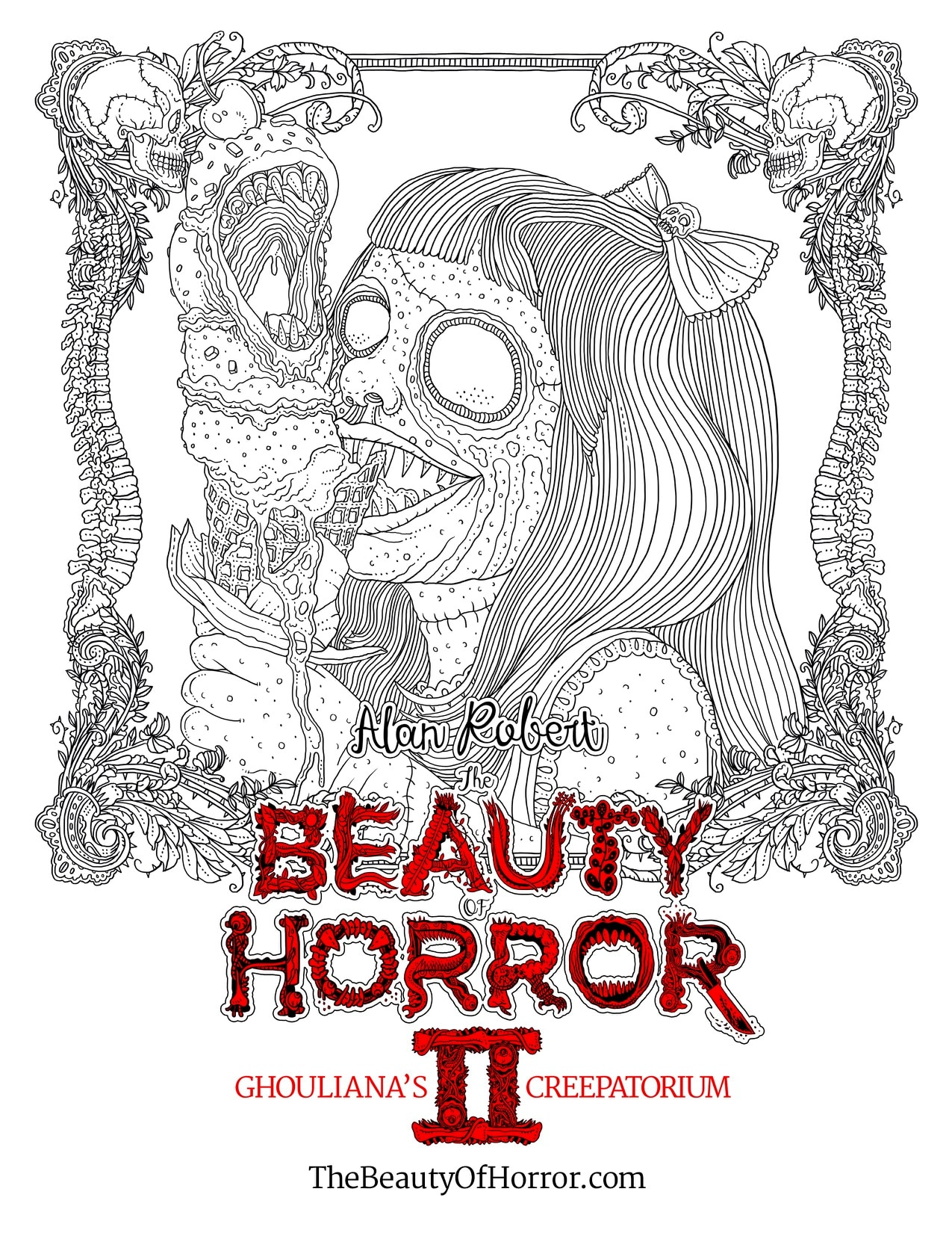 Alan Robert Releases a Page from The Beauty of Horror II ...