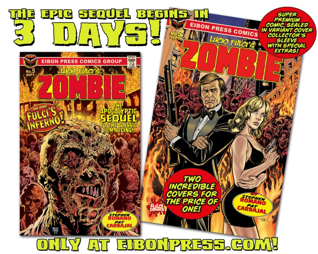 COUNTDOWN 3 min 1024x819 - The Official SEQUEL to LUCIO FULCI'S ZOMBIE in just THREE DAYS!