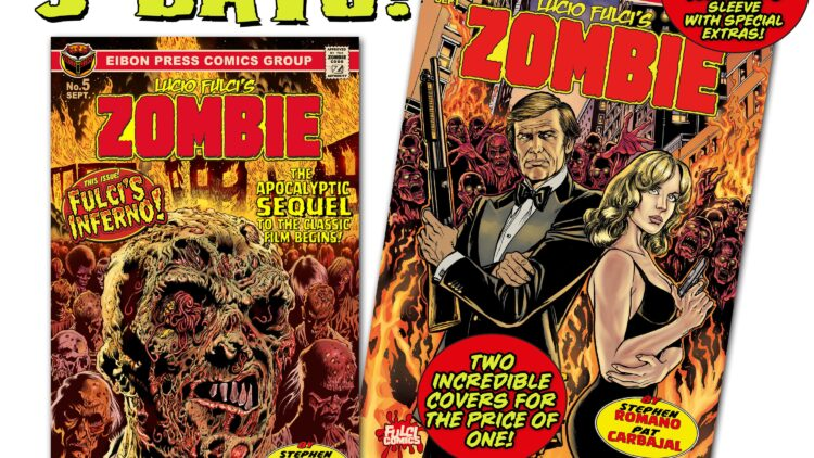 COUNTDOWN 3 min 750x422 - The Official SEQUEL to LUCIO FULCI'S ZOMBIE in just THREE DAYS!