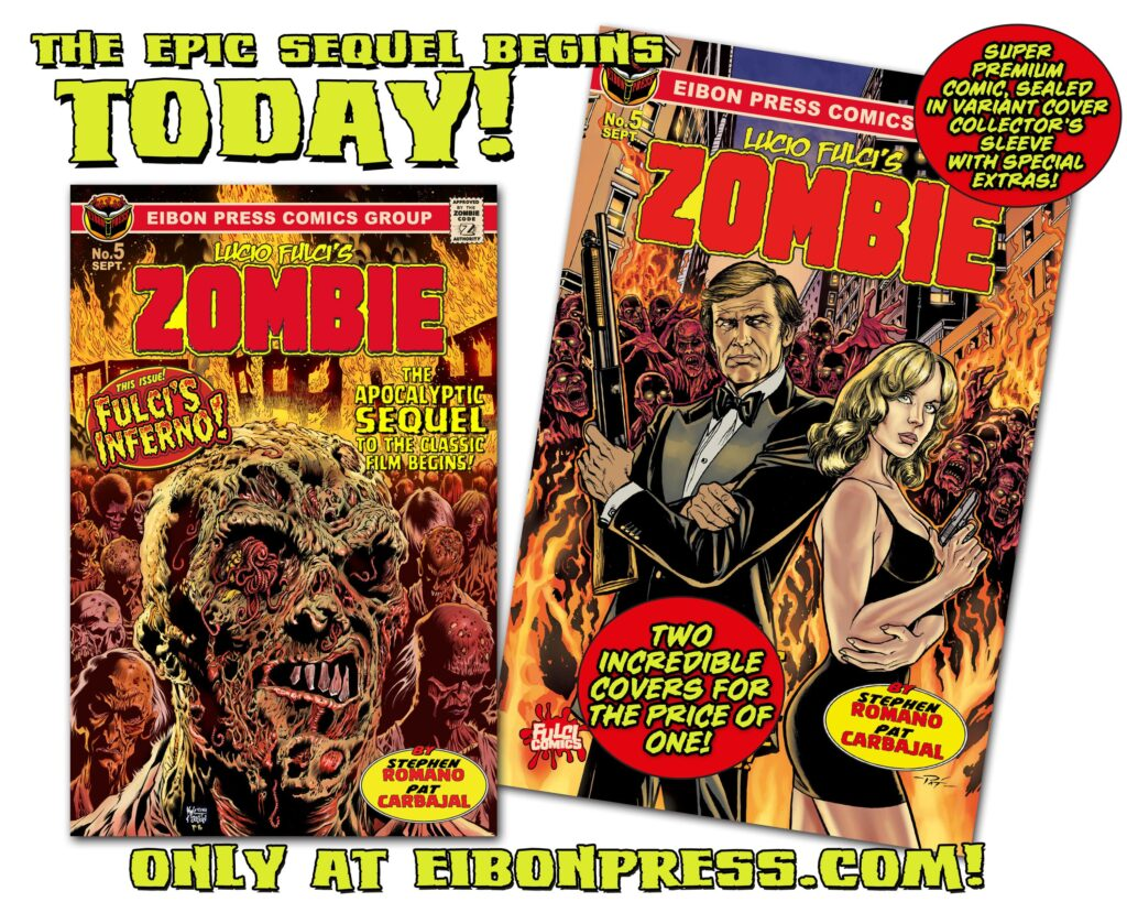 COUNTDOWN TODAY min 1024x819 - The Official SEQUEL to Lucio Fulci's ZOMBIE is coming TODAY!