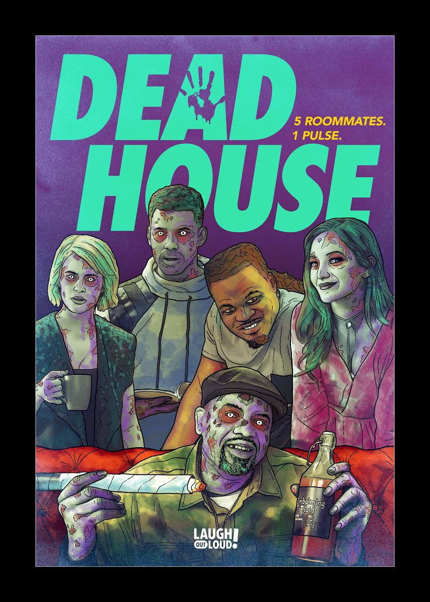 Dead House Key Art - Exclusive: King Bach Brings Zombie Reality to Life in Dead House