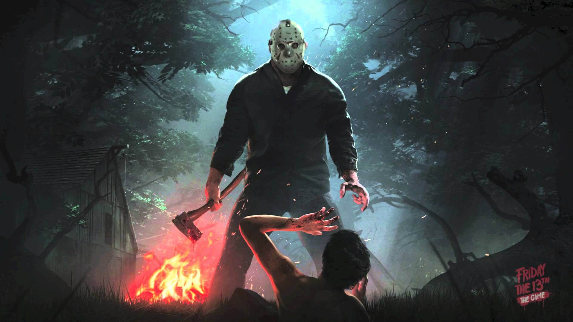 Friday The 13th The Game jason campfire 1 - Friday the 13th: The Game Celebrates Halloween with Costumes!