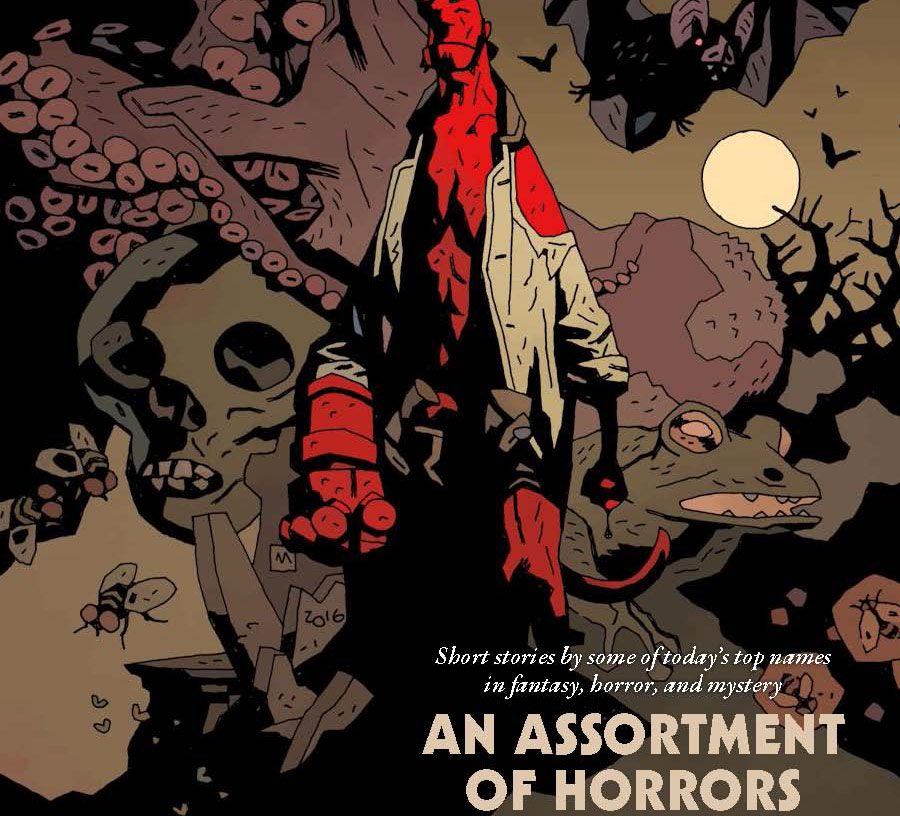 HBYAOH TPB s - Prose Anthology Hellboy: An Assortment of Horrors Arriving Next Week; Read the Intro!