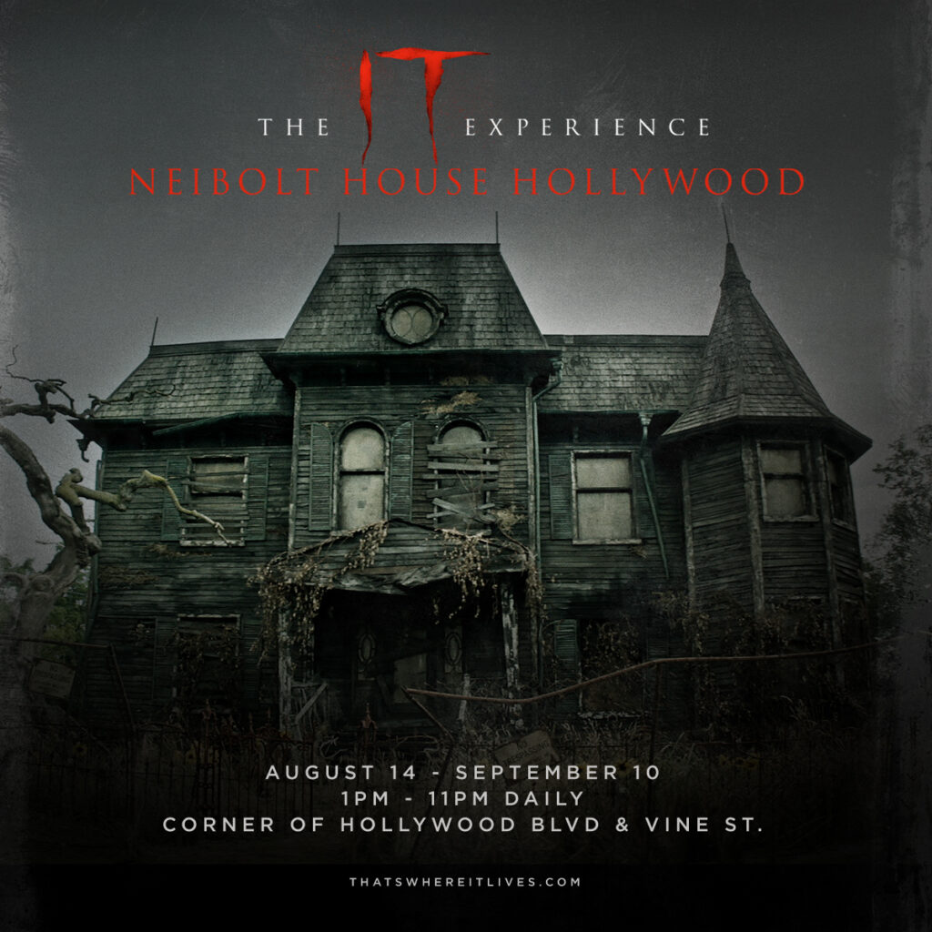 ITExperienceNeiboltHouseLA 1024x1024 - The Neibolt House from IT Is Now an Attraction in Los Angeles
