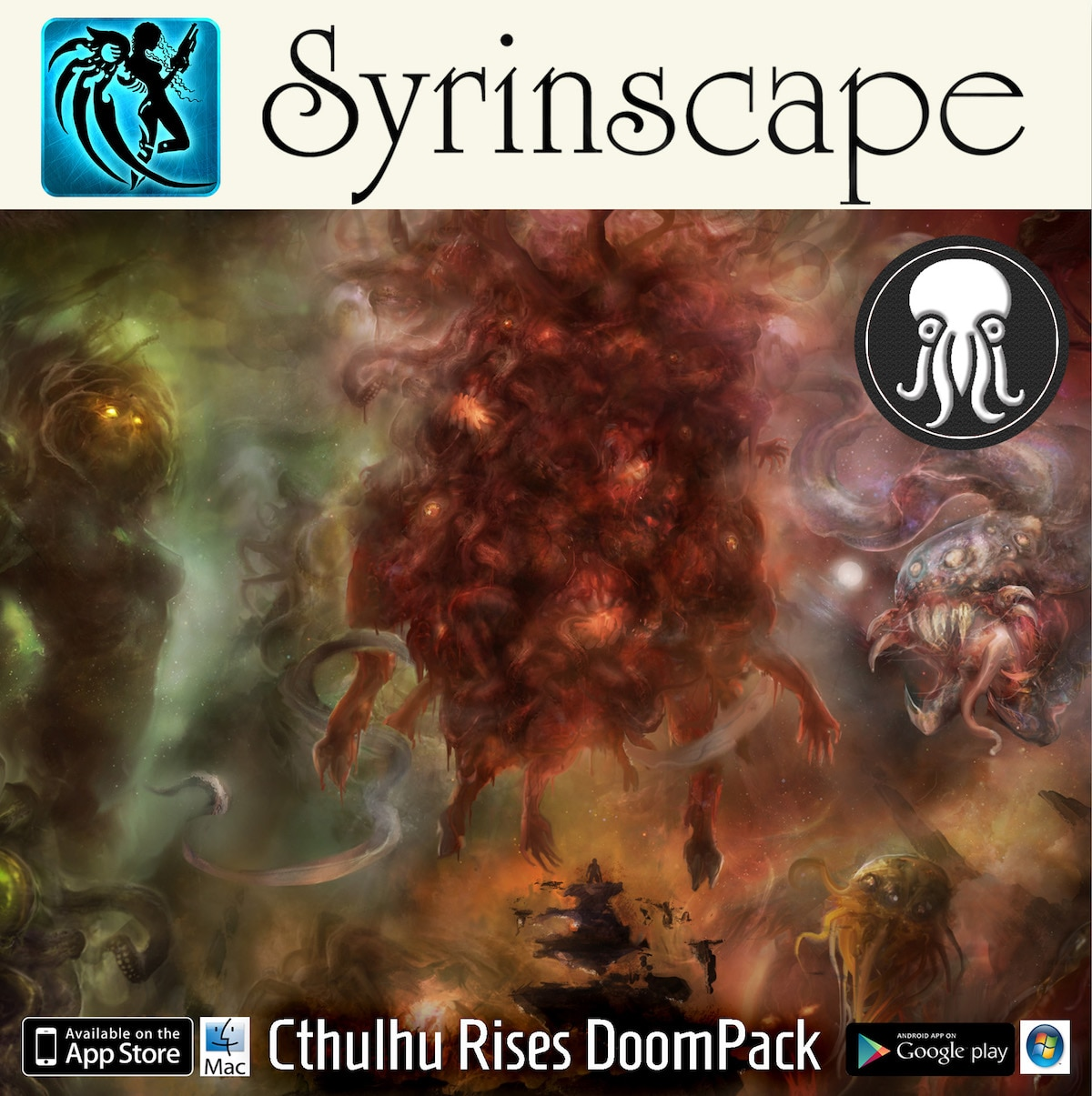 Press Picture Cthulhu rises Doompack - Exclusive: Benjamin Loomes Talks Syrinscape and How Audio Elevates Tabletop RPGs