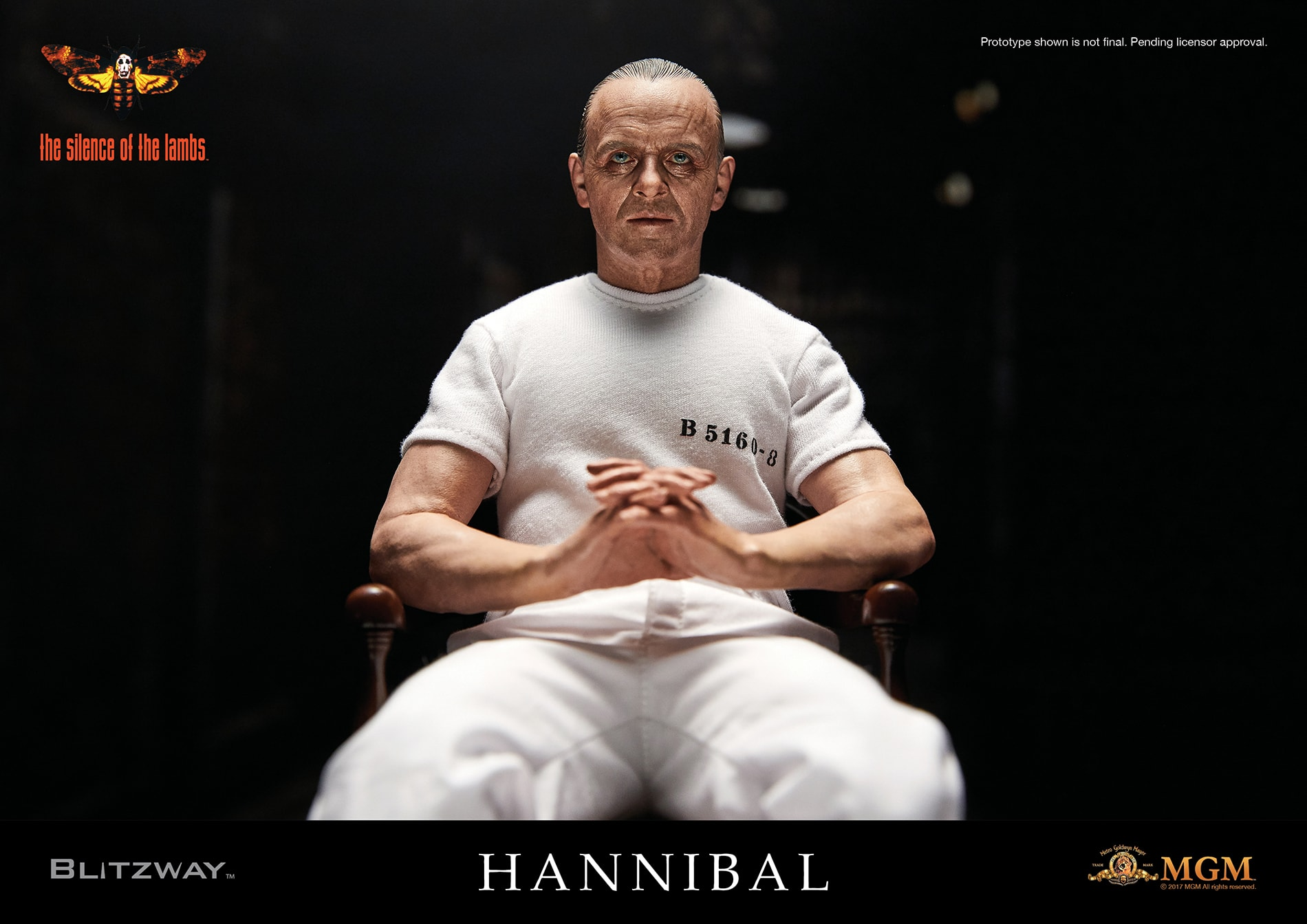 """SOL Ver.2 BLITZWAY 15 min - Bluefin Opens Preorders For Blitzway's 12"""" Silence of the Lambs Hannibal Lecter Figures"""