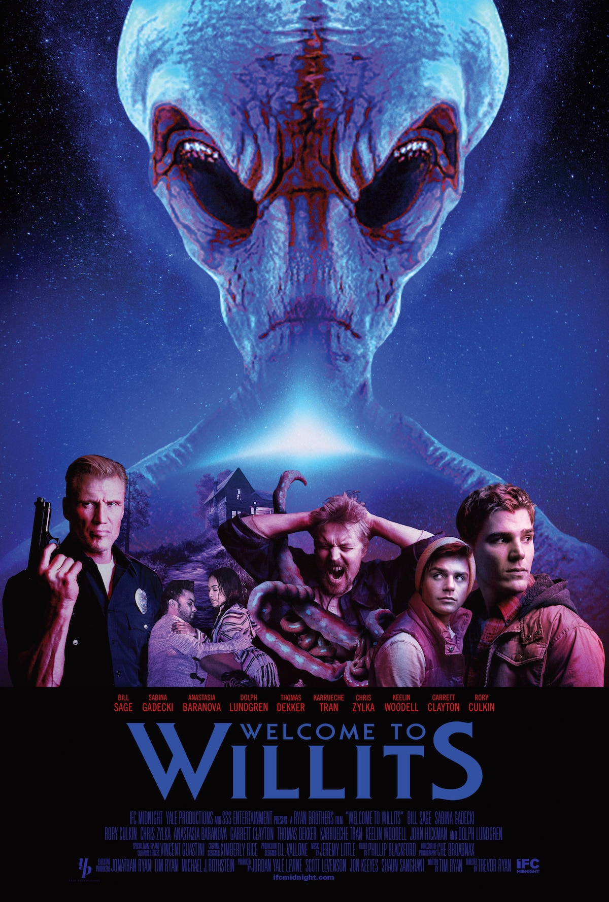 WELCOME TO WILLITS Official Poster IFC Midnight - Interview: Bill Sage Talks Welcome to Willits, Practical vs CGI, Hap and Leonard, and More!