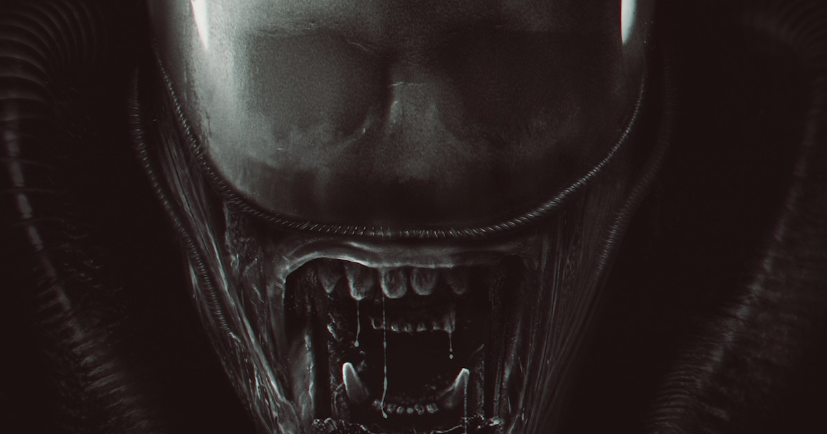 davidgrahamalien 3poster - David Graham Has Created Another Fantastic Alien Poster