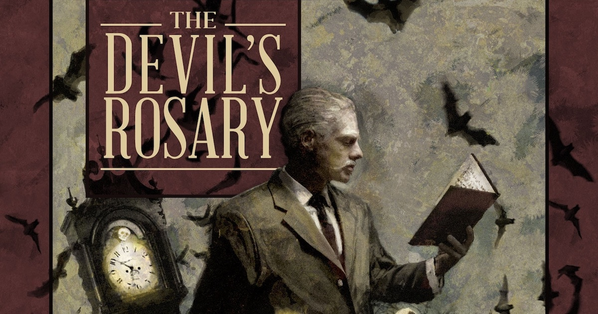 devilsrosarybanner - French Occult Detective Series Getting Second Volume The Devil's Rosary