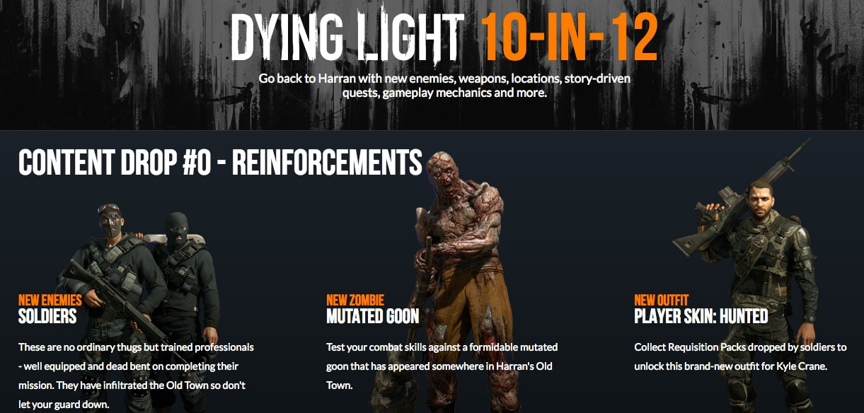 dying light free dlc xbox one