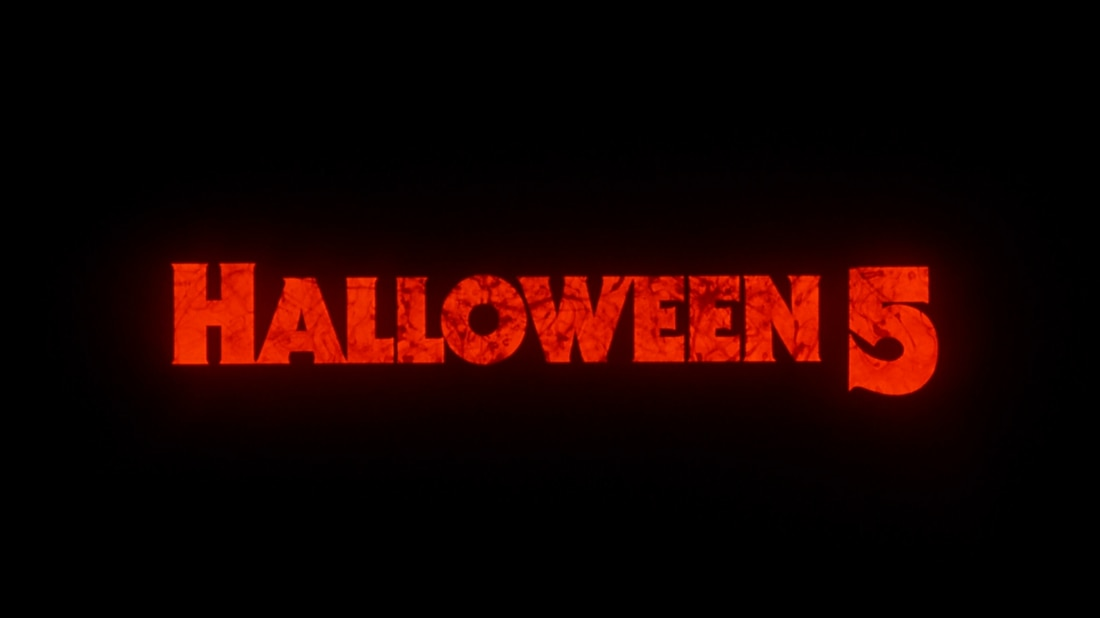 halloween 5 title - Interview: Robert Harders' Original Pitch for Halloween 5