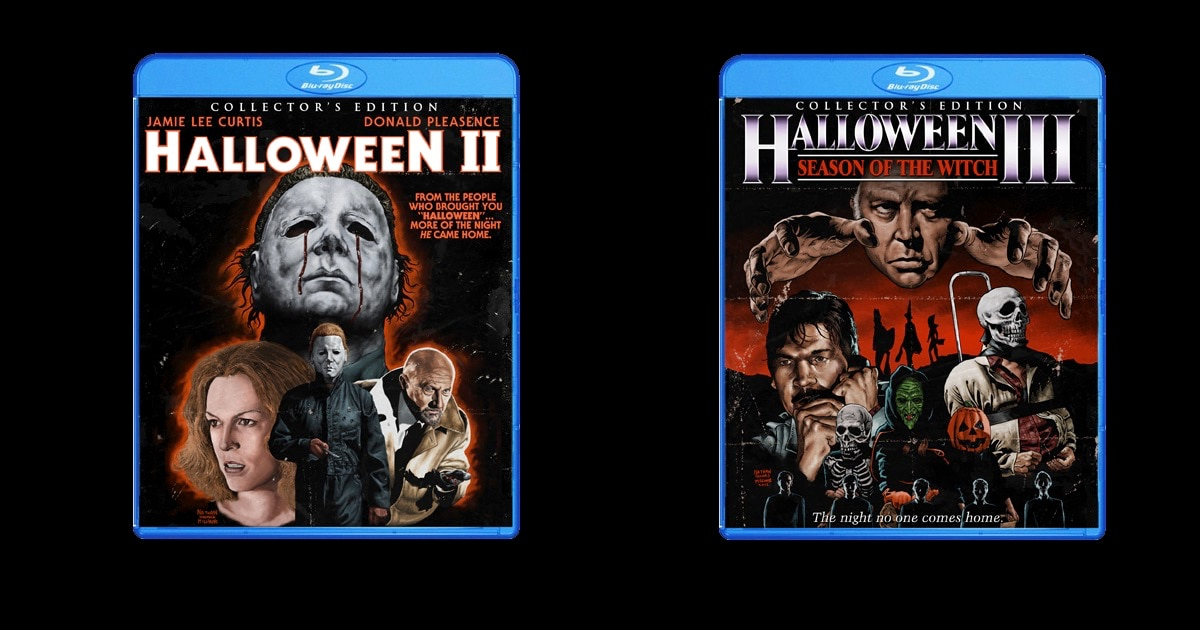 halloween2and3screambanner - Five Years Ago Scream Factory Launched and Horror Home Video Collections Were Forever Changed