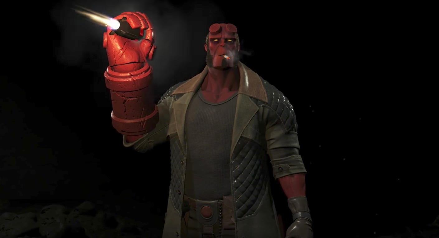 hellboyinjustice2banner - Hellboy Has Joined the Ranks of Injustice 2!