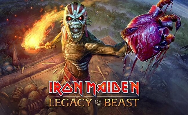 Heavy Metal Publishing Revving Up Iron Maiden's Legacy of