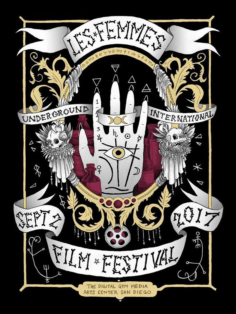 lefuff art - 2nd Annual Les Femmes Underground International Film Fest Casts its Spell on San Diego