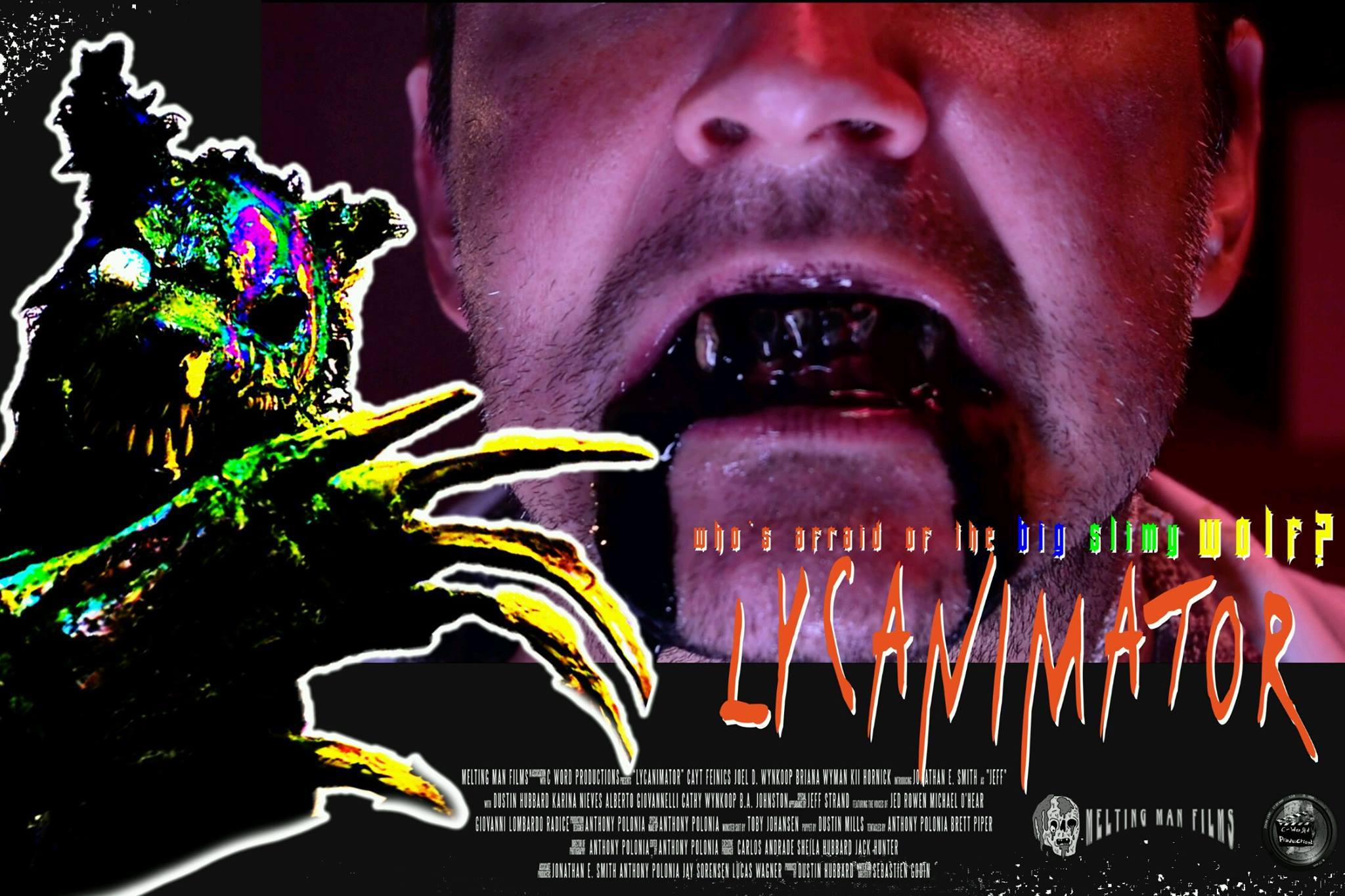 lycanimator theatercard 2 - Exclusive Lobby Cards From the Upcoming Creature Feature Lycanimator