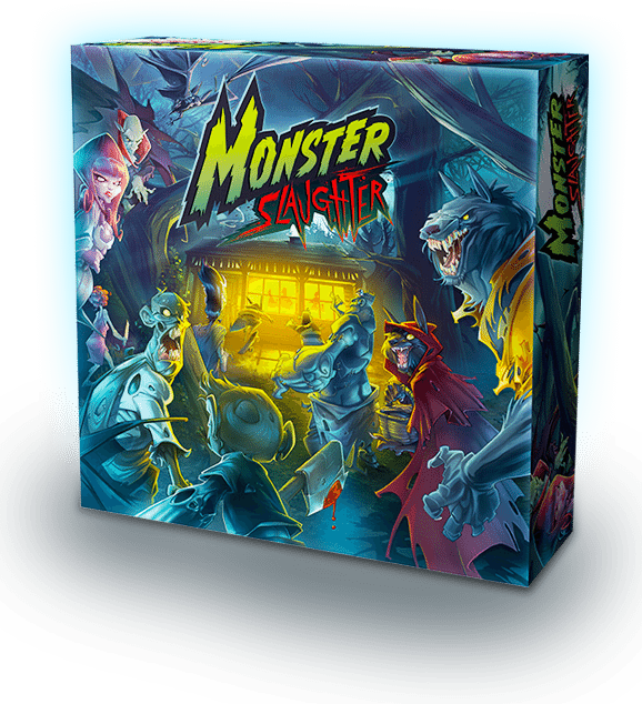 monster slaughter box - Badass New Board Game Monster Slaughter Has Teens on its Menu