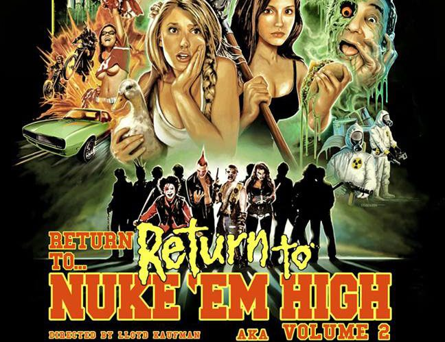 return to return to nuke em high s - Buffalo Dreams Film Fest Hosting NY Premiere of Return to Return to Nuke 'Em High aka Vol. 2