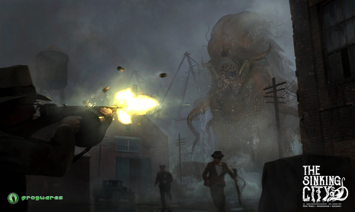 thesinkingcity Attack on Oakmont - Lovecraft-Inspired Investigative Adventure Game The Sinking City Locks Down Publisher