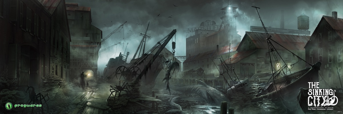 thesinkingcity Oakmont Harbor Exclusive - Lovecraft-Inspired Investigative Adventure Game The Sinking City Locks Down Publisher